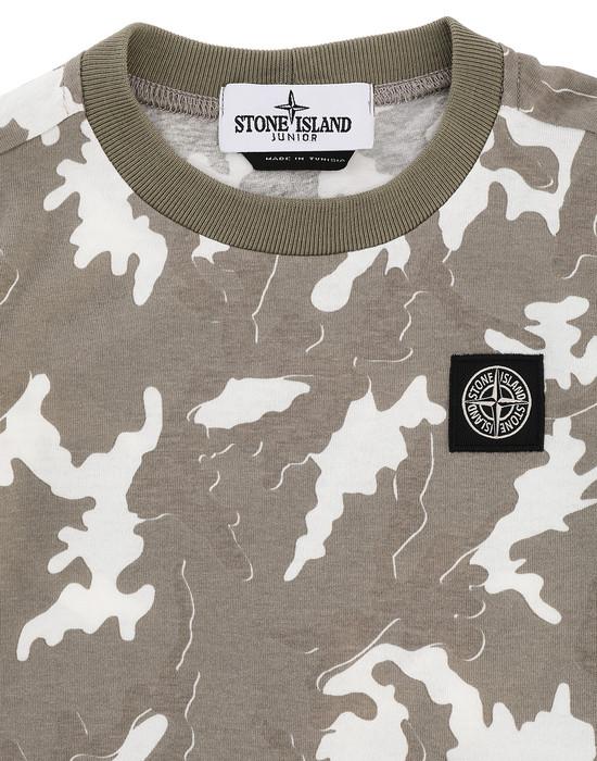 12467825hf - Polos - T-Shirts STONE ISLAND JUNIOR
