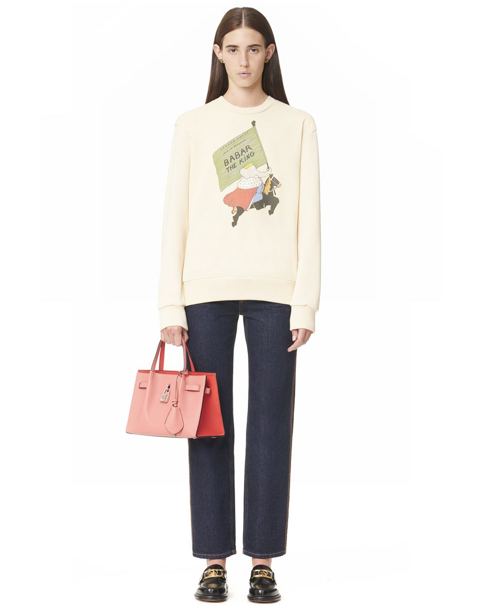 PRINTED LONG SLEEVE SWEATSHIRT - Lanvin