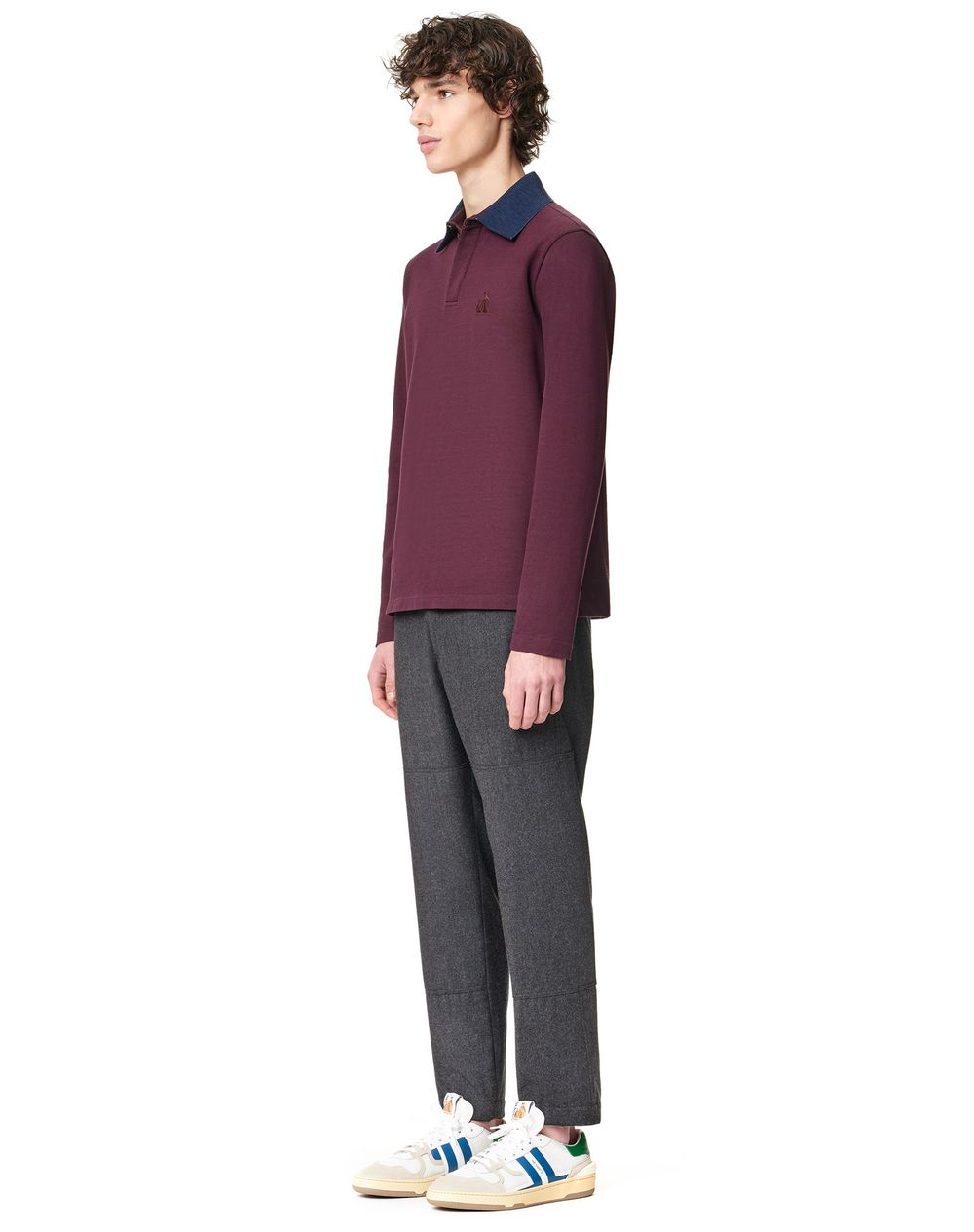 LONG SLEEVES POLO - Lanvin