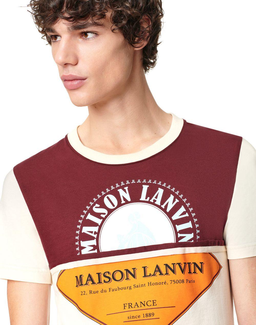 PRINTED PATCHWORK T-SHIRT - Lanvin