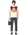 LANVIN Polos & T-Shirts Man PRINTED PATCHWORK T-SHIRT f
