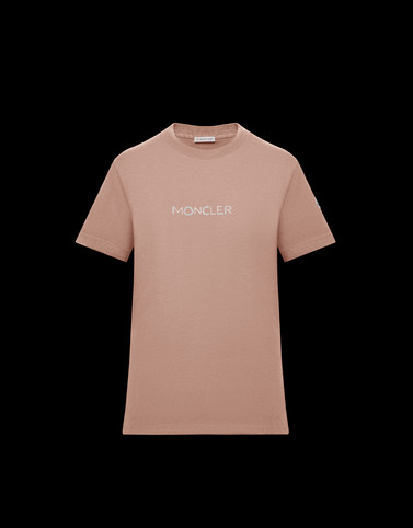 T-SHIRT Powder Rose T-shirts & Tops Woman