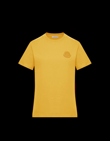 T-SHIRT Ochre T-shirts & Tops Woman