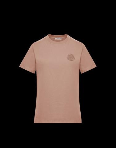 T恤 玫瑰花粉色 上衣及 T 恤 女士