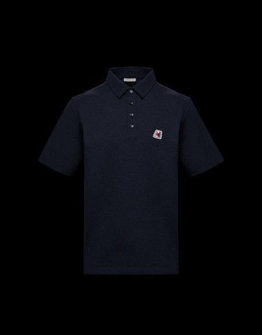 POLO Dark blue Category Polo shirts Man