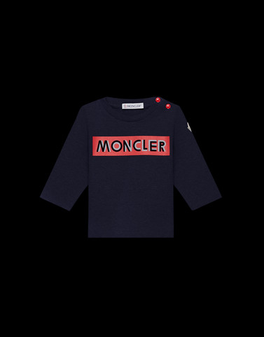 LONG-SLEEVED T-SHIRT Dark blue Baby 0-36 months - Boy Man
