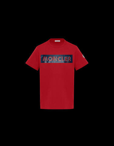 T-SHIRT Red New in Man