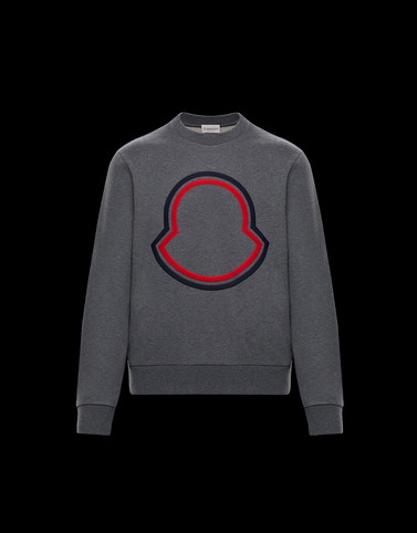 CREWNECK SWEATSHIRT Grey Sweatshirts Man