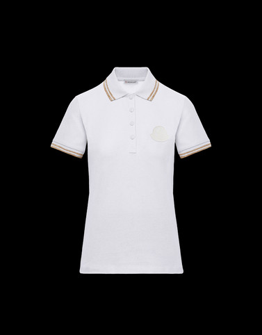 POLO White T-shirts & Tops Woman