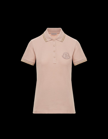 POLO衫 粉红色 上衣及 T 恤 女士