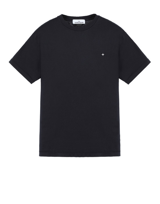 STONE ISLAND 21213 Short sleeve t-shirt Man Blue