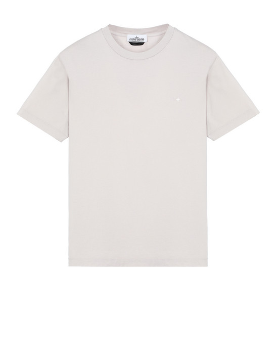 STONE ISLAND 21213 Short sleeve t-shirt Man Dove Gray
