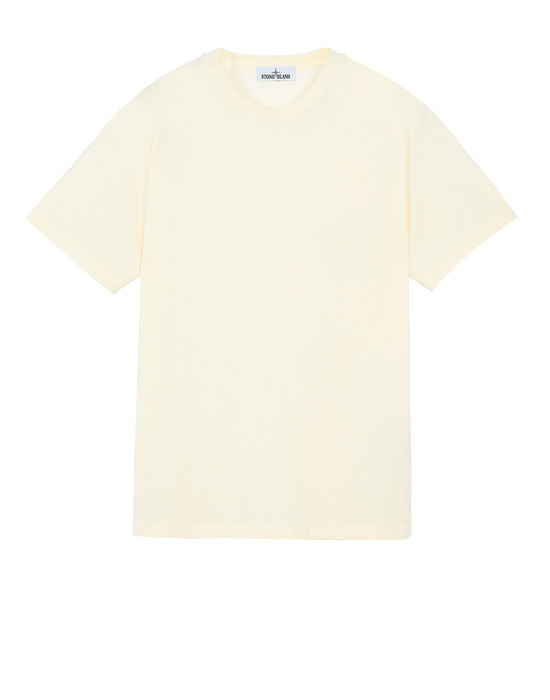 STONE ISLAND 21213 Short sleeve t-shirt Man Butter