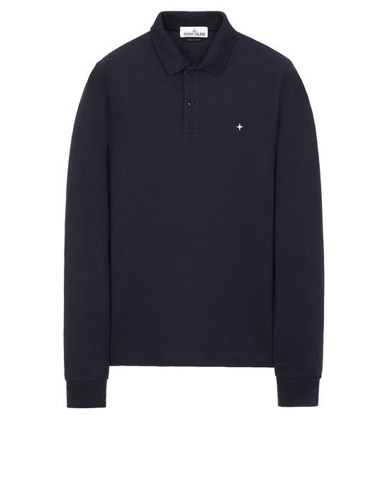 STONE ISLAND 21618 Polo shirt Man Blue