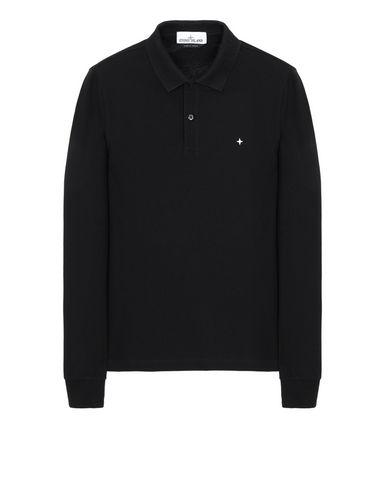 STONE ISLAND 21618 Polo shirt Man Black EUR 104