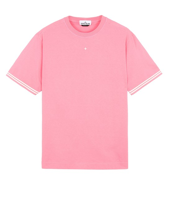 STONE ISLAND 21344 Short sleeve t-shirt Man Cyclamen