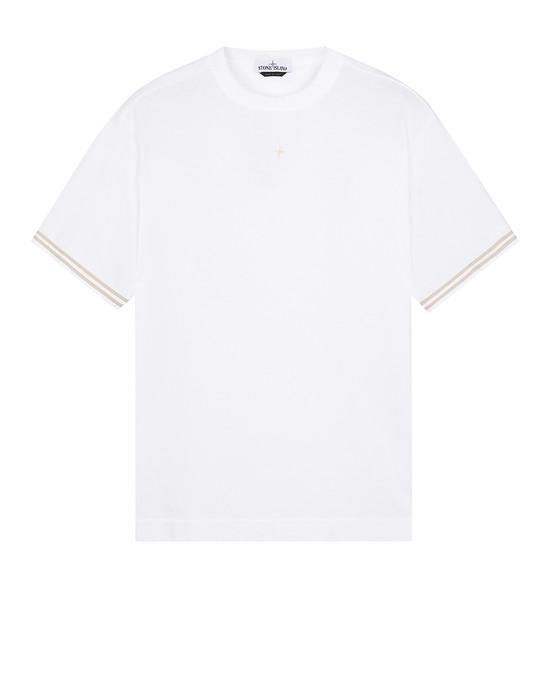 STONE ISLAND 21344 Short sleeve t-shirt Man Beige