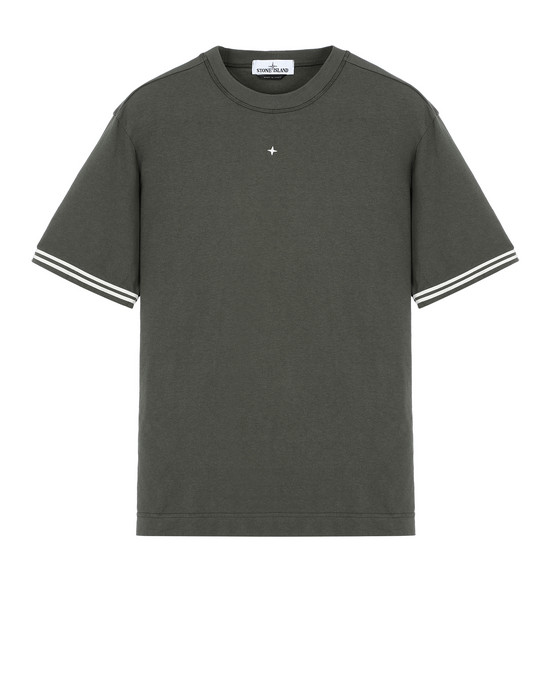 STONE ISLAND 21344 Short sleeve t-shirt Man Musk Green