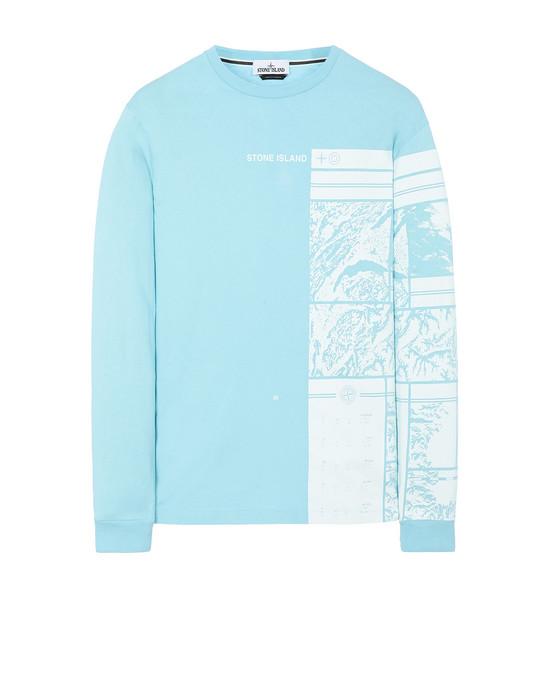Long sleeve t-shirt Man 2ML85 MURAL PART 1 Front STONE ISLAND