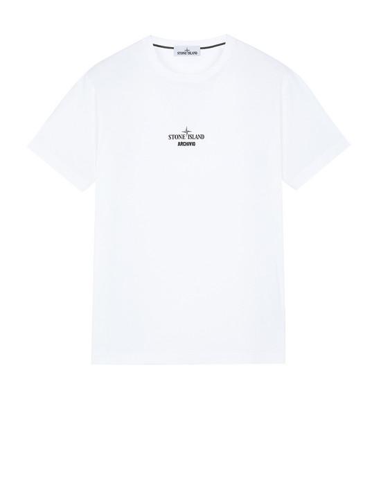 Short sleeve t-shirt 2NS91 STONE ISLAND ARCHIVIO PROJECT_PRESIDENT'S KNIT STONE ISLAND - 0