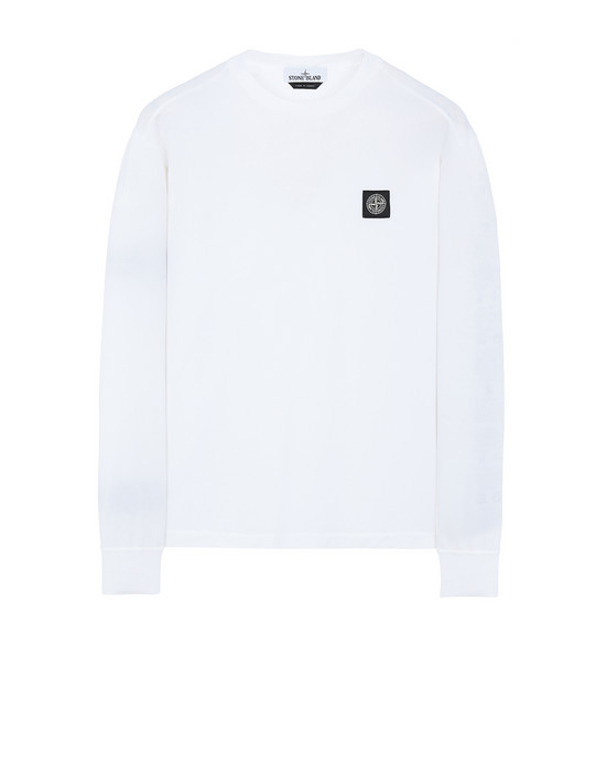 STONE ISLAND 22713 Long sleeve t-shirt Man White