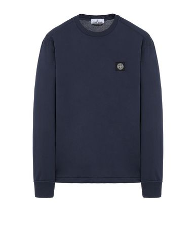 STONE ISLAND 22713 Long sleeve t-shirt Man Marine Blue EUR 129