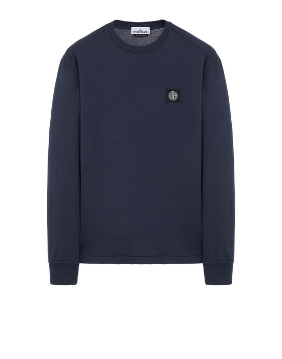 STONE ISLAND 22713 Long sleeve t-shirt Man Marine Blue
