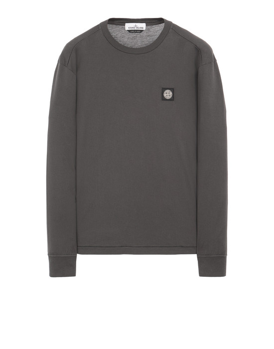 STONE ISLAND 22713 Long sleeve t-shirt Man Steel Gray