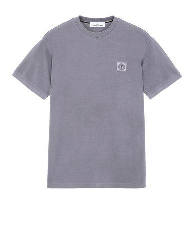 STONE ISLAND 20467 PIGMENT DYE Short sleeve t-shirt Man Magenta EUR 135
