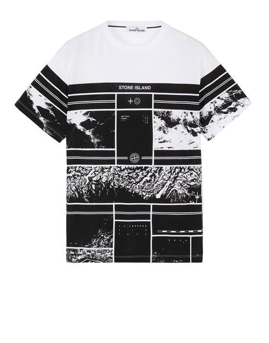 Short sleeve t-shirt Man 2NS86 MURAL PART 2 Front STONE ISLAND