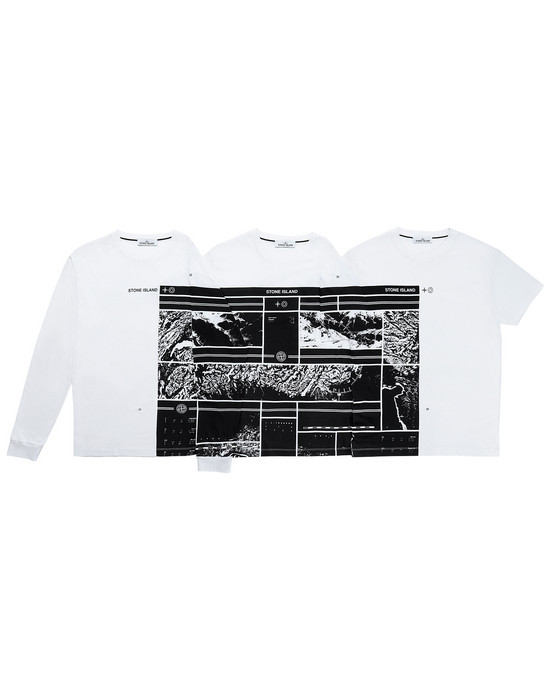 12472873nb - Polo - T-Shirts STONE ISLAND