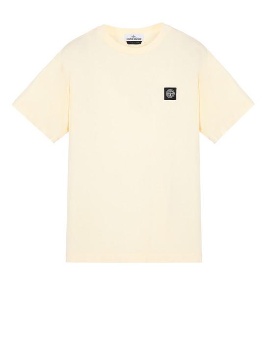 STONE ISLAND 24113 Short sleeve t-shirt Man Butter
