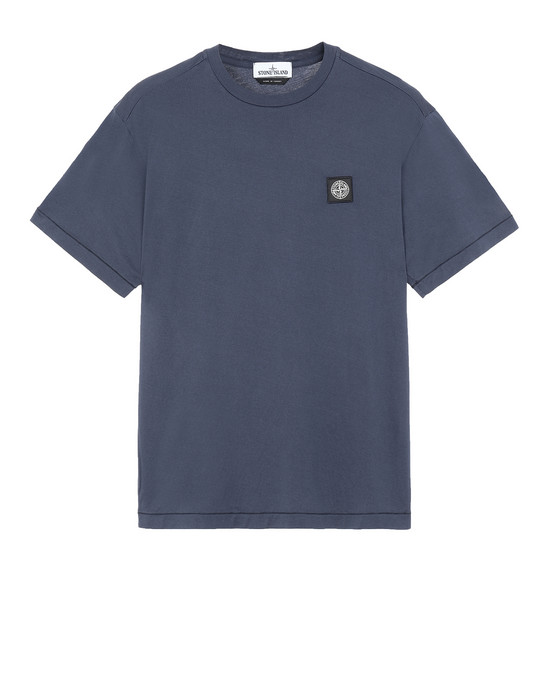 STONE ISLAND 24113 Short sleeve t-shirt Man Marine Blue