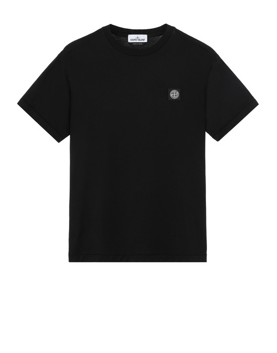 Sold out - STONE ISLAND 24113 Short sleeve t-shirt Man Black
