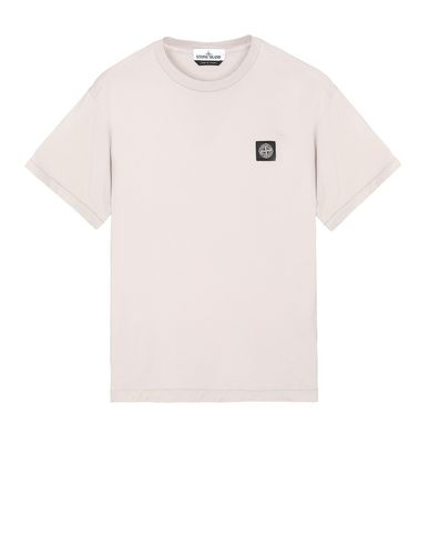 STONE ISLAND 24113 Short sleeve t-shirt Man Dove Grey EUR 109