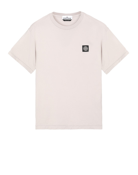 STONE ISLAND 24113 Short sleeve t-shirt Man Dove Gray