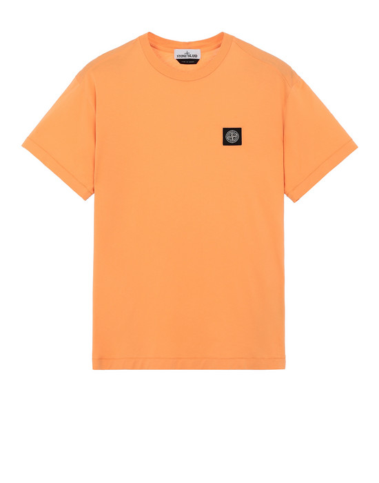 STONE ISLAND 24113 Short sleeve t-shirt Man Orange