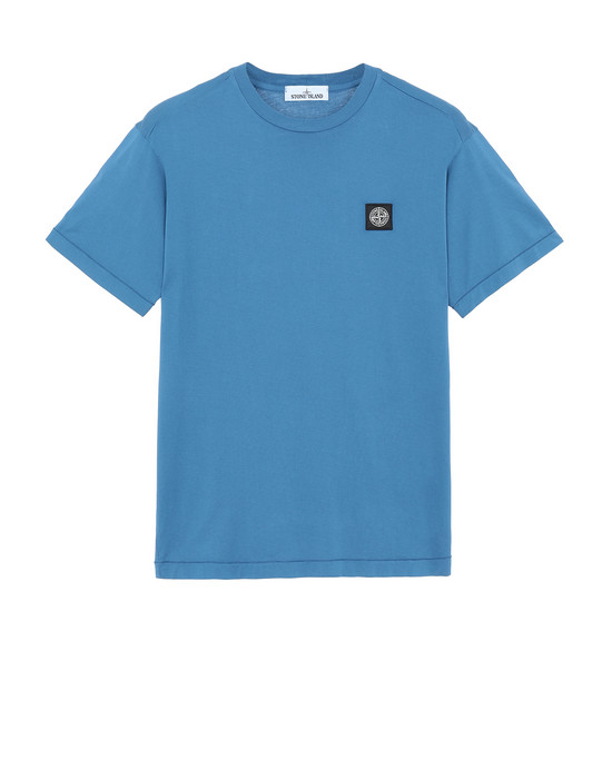 STONE ISLAND 24113 T-shirt manches courtes Homme Pervenche