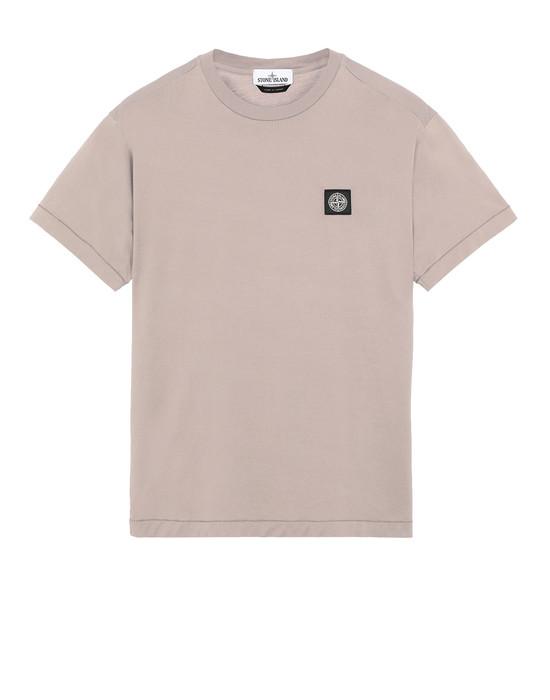 STONE ISLAND 24113 Short sleeve t-shirt Man Mud