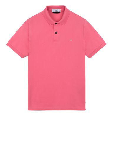 STONE ISLAND 21718 Polo shirt Man Cyclamen EUR 125