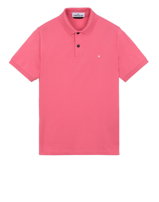 STONE ISLAND 21718 Polo shirt Man Cyclamen