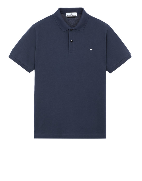 STONE ISLAND 21718 Polo shirt Man Marine Blue