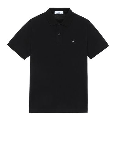STONE ISLAND 21718 ポロシャツ メンズ ブラック JPY 20900