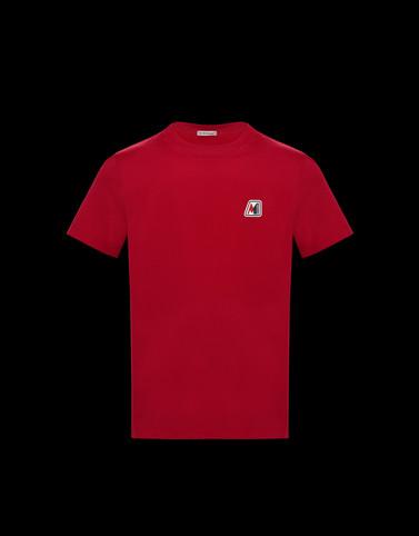 T恤 红色 For Men 男士