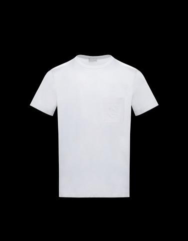 T-SHIRT Weiß Polos & T-Shirts Herren