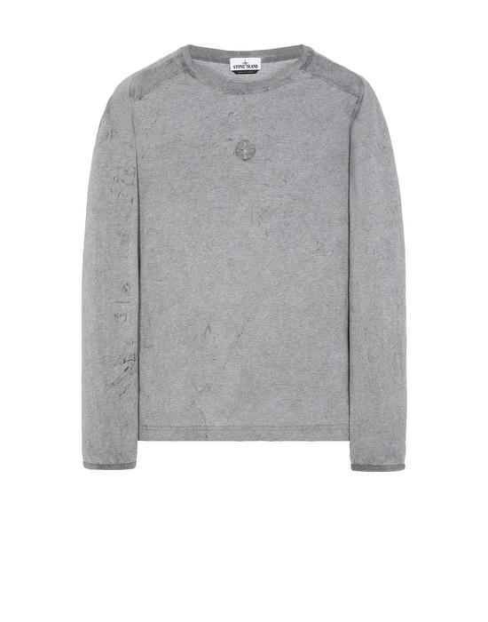 STONE ISLAND 20393 DUST COLOUR 长袖 T 恤 男士 混杂黑色