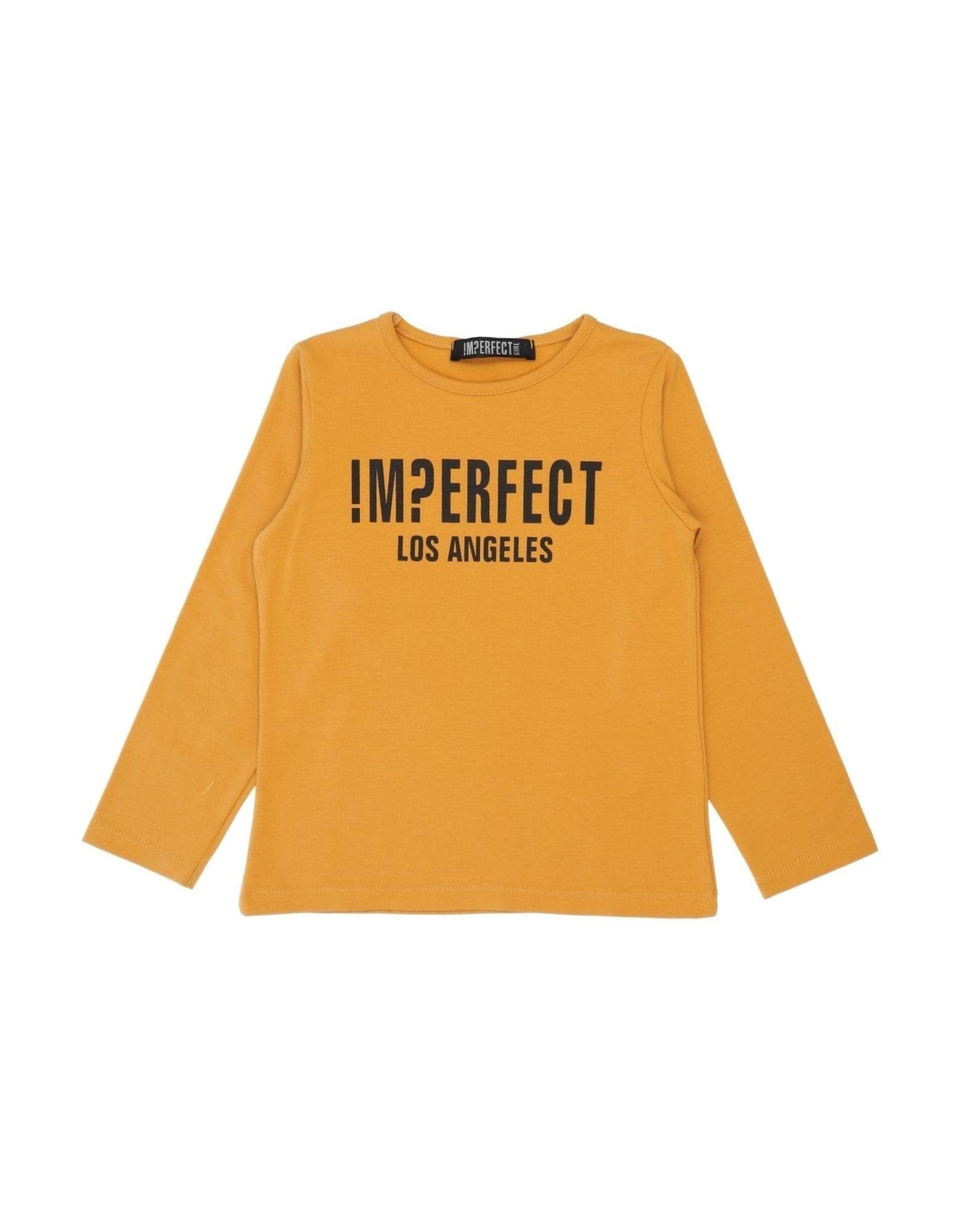 !m?erfect Kids'  T-shirts In Orange