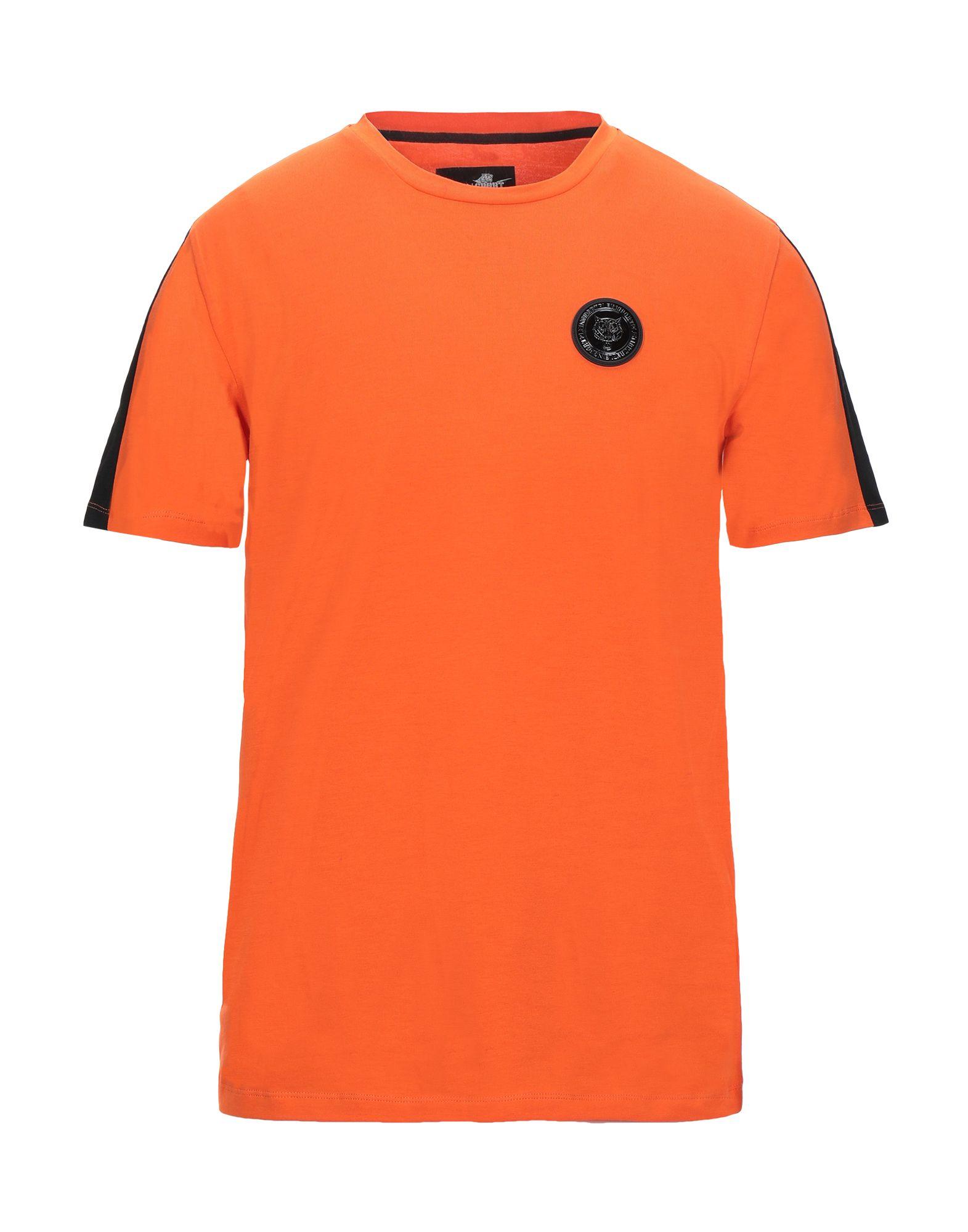 PLEIN SPORT プレイン・スポーツ メンズ T シャツ オレンジ