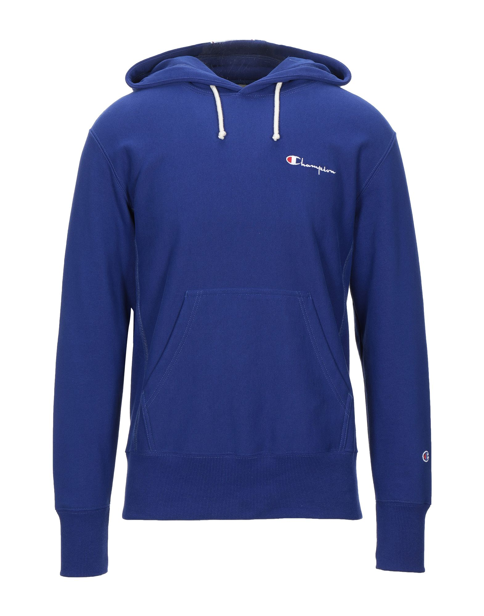 《セール開催中》CHAMPION REVERSE WEAVE メンズ スウェットシャツ ブルー M コットン 90% / ポリエステル 10% / アクリル / ウール / レーヨン