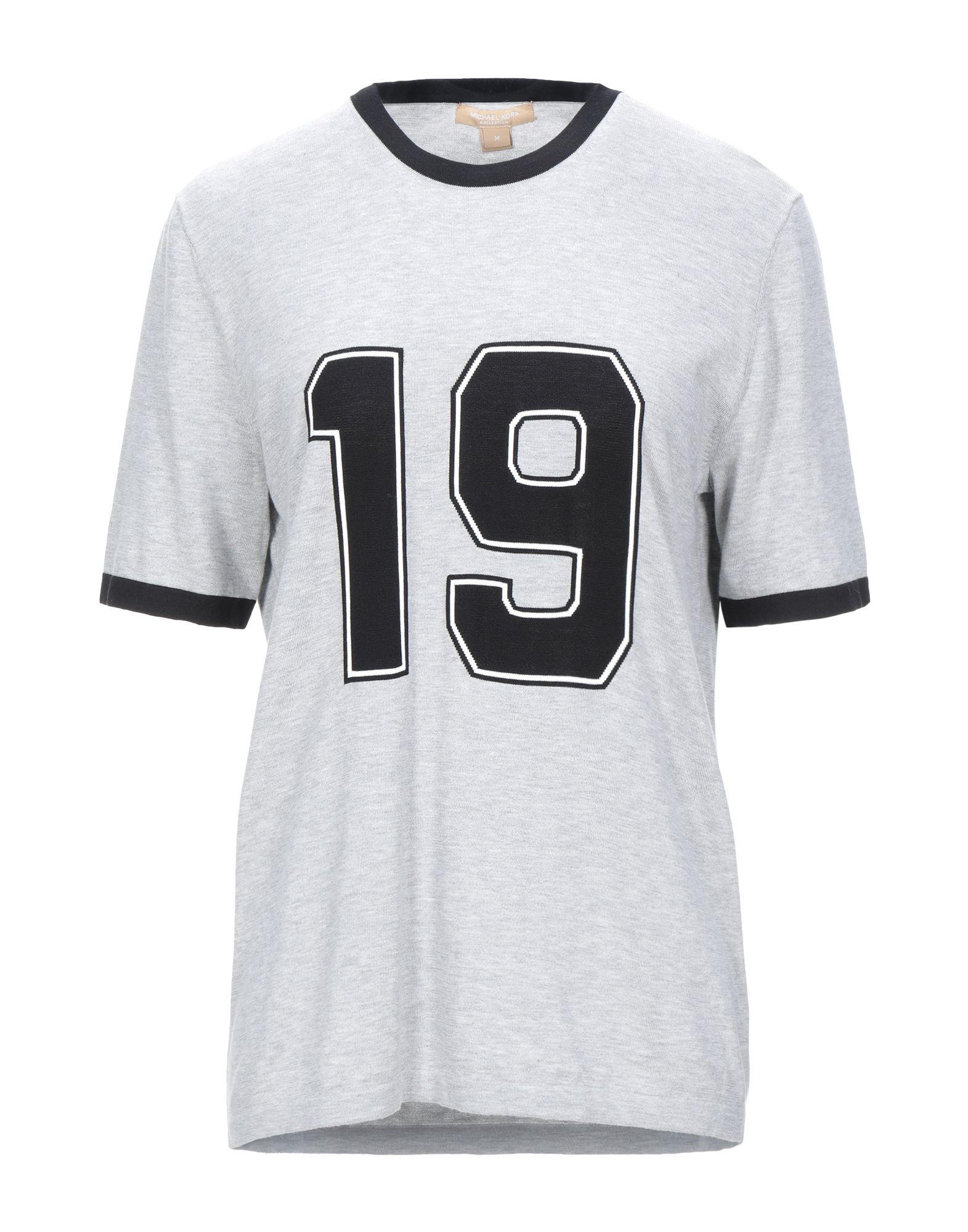 Фото - MICHAEL KORS COLLECTION Футболка michael kors collection юбка длиной 3 4